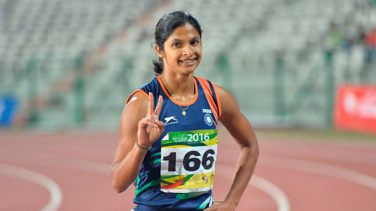 Srabani enter finals in Asian Athletics Championships