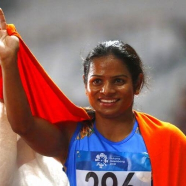 National record by Dutee Chand