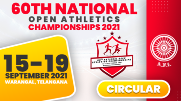 60TH NATIONAL OPEN ATHLETICS CHAMPIONSHIPS 2021