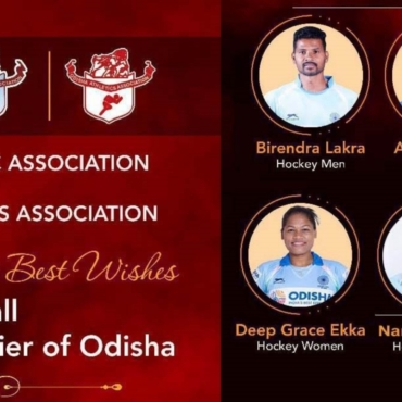 Congratulation & Best wishes to all Olympic qualifier of Odisha