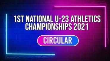 1st National U-23 Senior Athletics Championships 2021